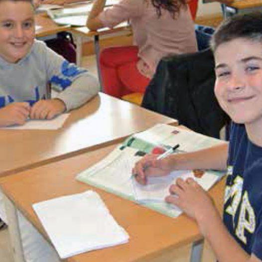 Inglés en Blackrock College, Dublín
