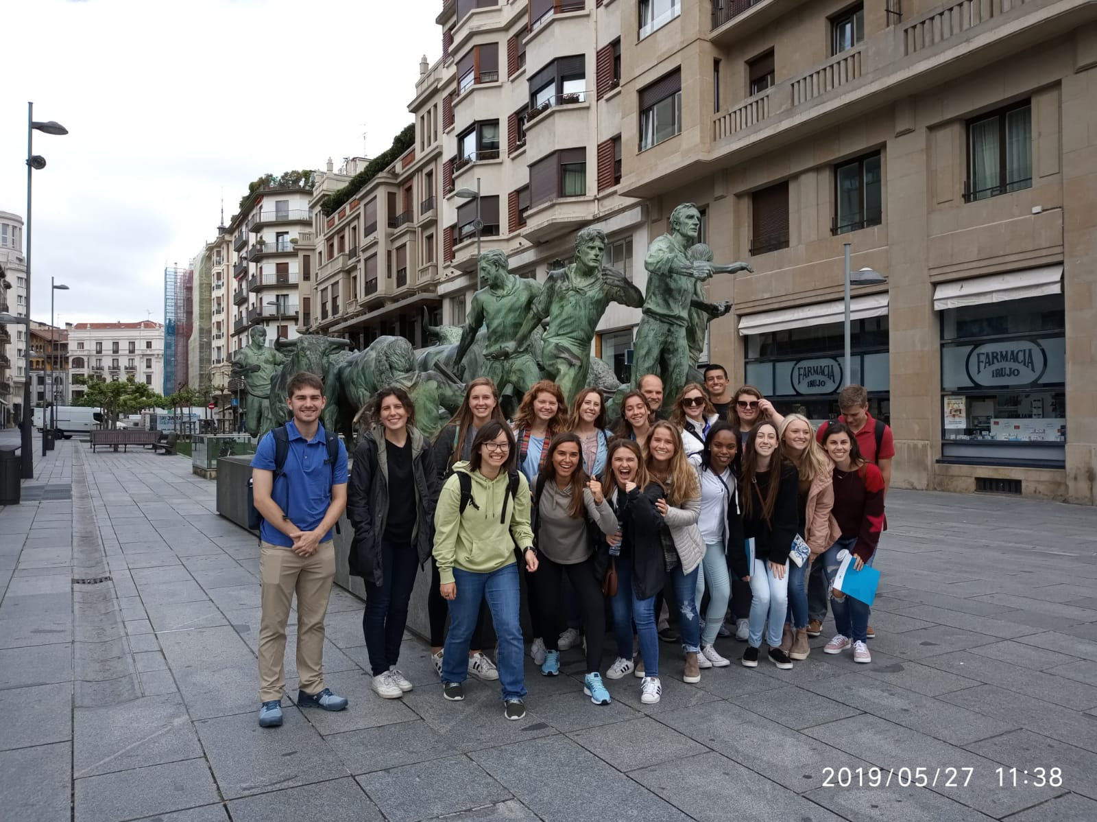 INGENIO summer programs 2019: Auburn University and University of Alabama already in Pamplona