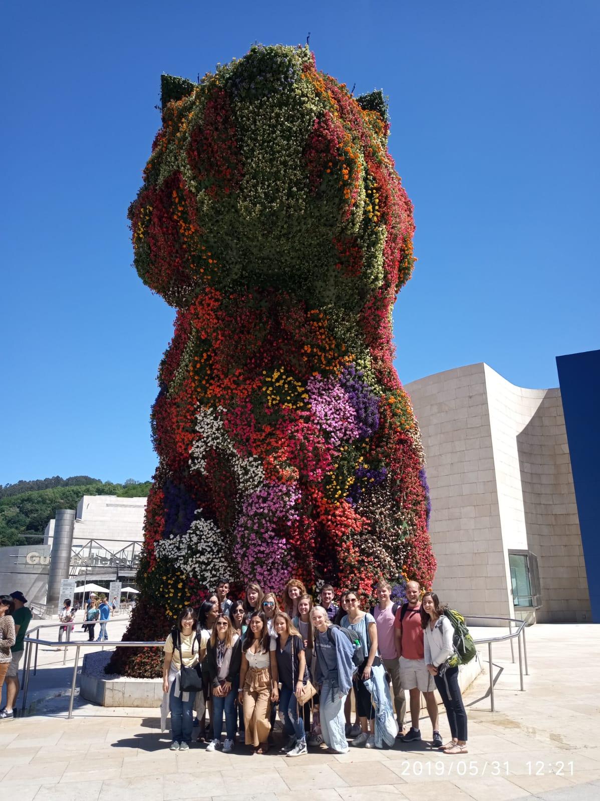 Auburn+ Bama at Guggenheim Musuem