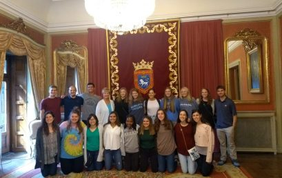 Visiting the townhall in Pamplona: Auburn Health, Auburn Sustainability and Bama Architecture